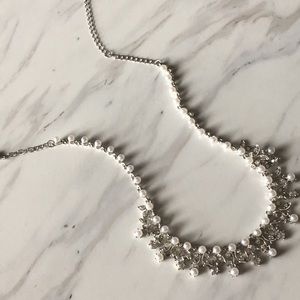 Pearl and Sparkle Necklace